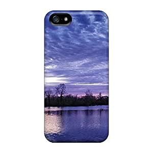 New Arrival Cover Case With Nice Design For Iphone 5/5s- Year End Sunset