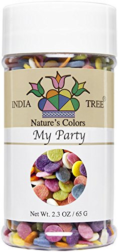 India Tree Nature's Colors My Party Decoratifs Jar, 2.3 -