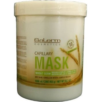 (Salerm Wheat Germ Mascarilla Capilar Conditioning Treatment, 33.7 Ounce )