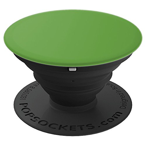 - Asparagus green color Solid Hue - PopSockets Grip and Stand for Phones and Tablets