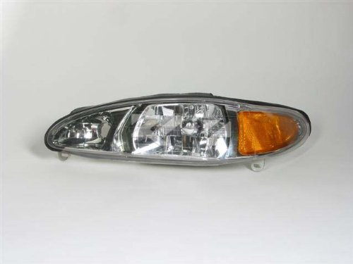 replacement driver side headlight assembly
