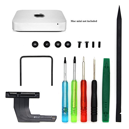 E.Durable Professional Mac Mini Dual Hard Drive Kit with Screws Washers Logic Board Removal Tool and Mini Screwdrivers for Mac Mini A1347 [Updated New Version]