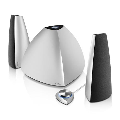Edifier Prisma 2.1 Bluetooth Audio Speakers System - Silver