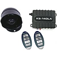 K9 K9140LA Car Alarm Vehicle Security System with 8 Programmable Features