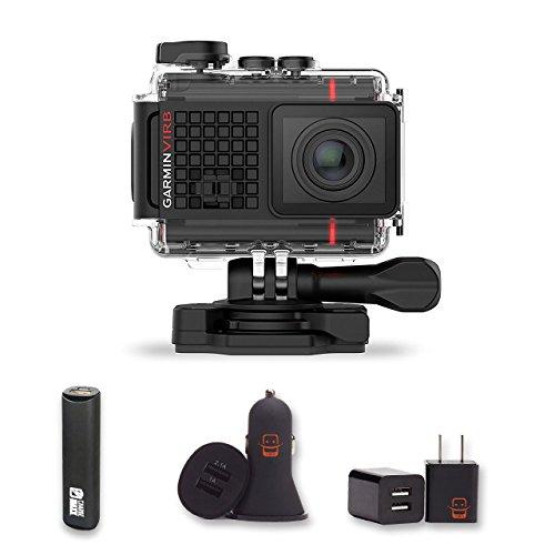 Garmin VIRB Ultra 30 Action Camera + PowerBank + USB Car Cha