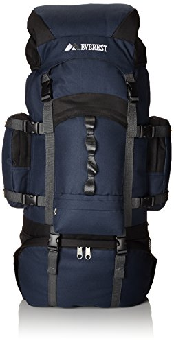 Everest Deluxe Hiking Pack, Navy, One Size by EVEREST