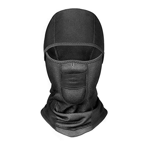 EraseSIZE Cycling Motorcycle Halloween Warm Head Scarf Neck Tube Scarf Face Mask Outdoor Ski Wind-Resistant Fleece Tactical Balaclava, Ultimate Protection for Women Men