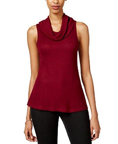 sleeveless cowl neck - 3
