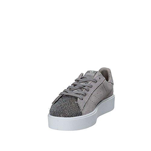 VICTORIA Baskets Femme Chaussures Avec Plateforme 260120 Grey Gris htj3EE