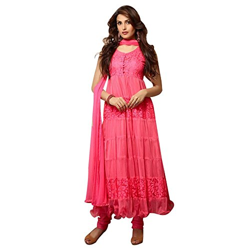 Dancing-Girl-Red-Brasso-Semistitched-Party-Wear-Anarkali-Salwar-Suit-with-Dupatta