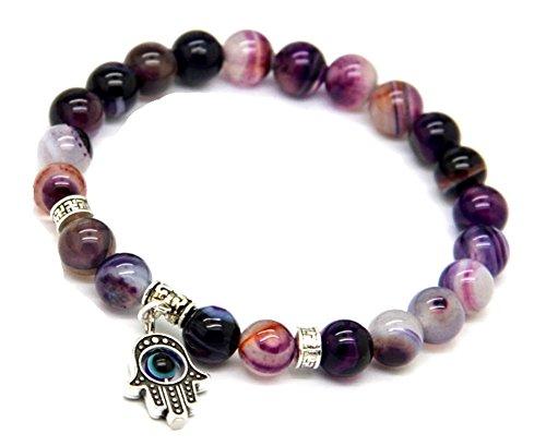 JY Jewelry Natural Purple Bracelets