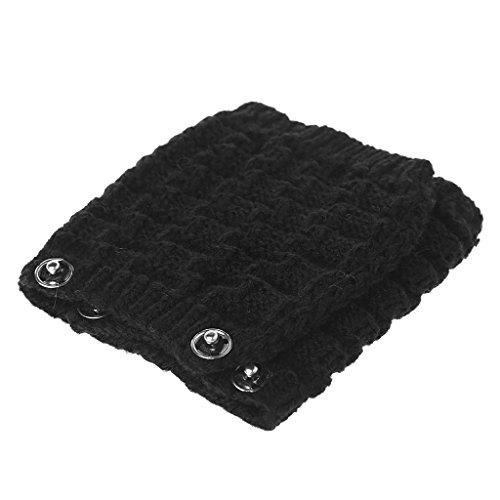 Hand Woven Pure Wool - Youngy Pure Wool Headband Cushion for Sennheiser HD480 HD450 HD540 Headphones Hand Knit - Black