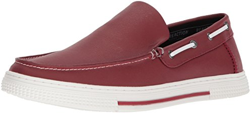 Kenneth Cole REACTION Mens SMS8CN004 Ankir Slip on B Red