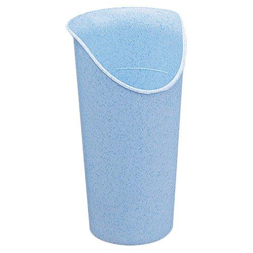 Nosey Cutout Glass, Each, No-Tilt Drinking Glass, Reduces Risk of ()
