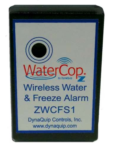 DynaQuip Controls ZWCFS1 Z-Wave WaterCop Wireless Water and Freeze Alarm