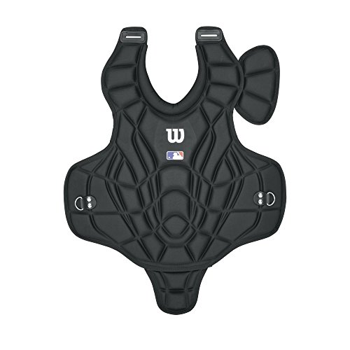 Wilson Adult Prestige Catcher's Chest Protector, Black, 18-Inch by Wilson
