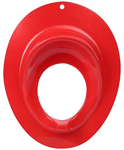 TOYDIRECT Baby Potty Seats||Pot||Chair||Potty Toilet Trainer Seat Cover for Toddler Boys Girls {RED
