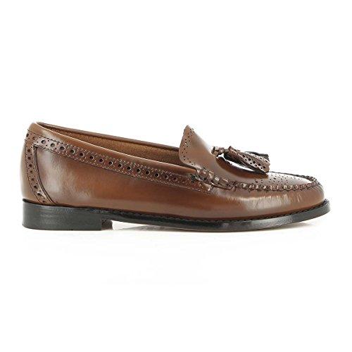 H Estelle Cognac Bass Leather Weejuns G Brogue OqUwtdx14O