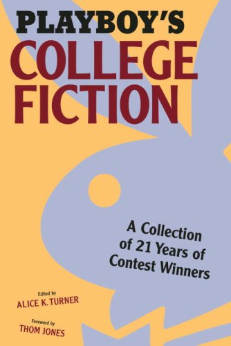 Download Playboy's College Fiction: A Collection of 21 Years of Contest Winners pdf