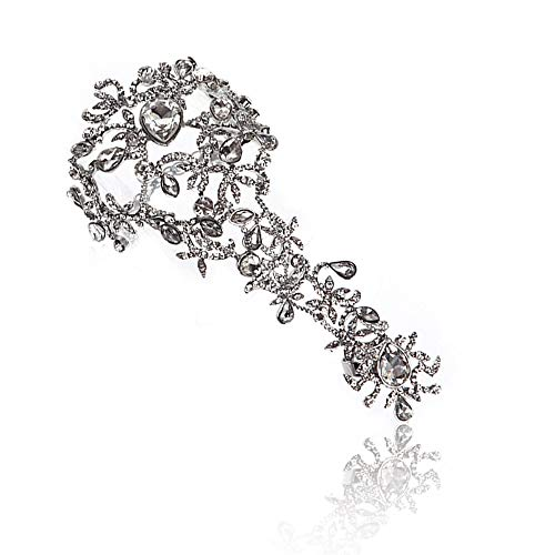 Sunshinesmile Rhinestone Bracelet Arm Chain Wedding Bridal Jewelry