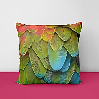 41hqOyb5ipL. SS320 Fether Square Design Printed Cushion Cover