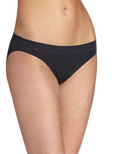- Wacoal Women's B-Smooth Bikini Panty, Black, Large