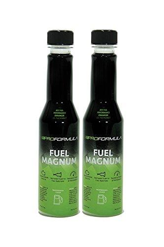 PROFORMULA Fuel Magnum - Gas Fuel Additive - Cleans The Fuel System- Enhances Power- More MPG!(2X 6oz Bottles)