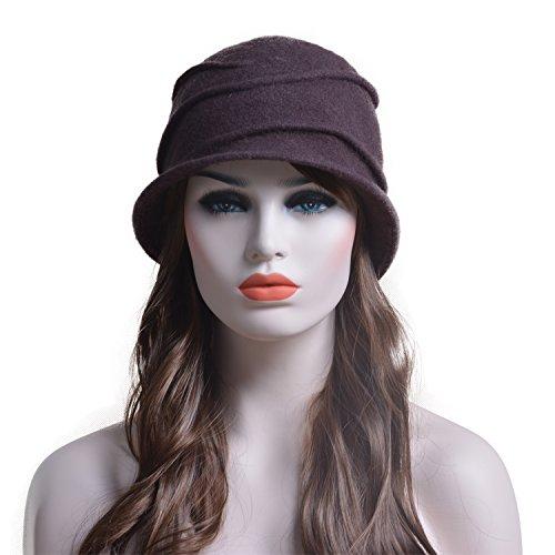 Lawli (Brown Cloche Hat)