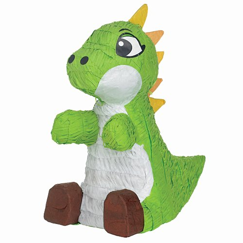Ya Otta Pinata BB001440 Green Baby Dinosaur Pinata