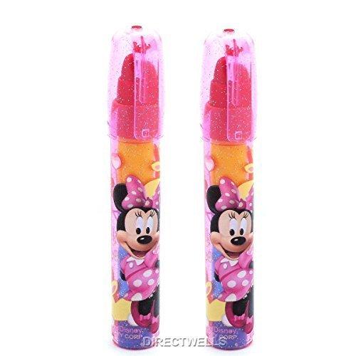 - Disney Minnie Mouse Erasers Lipstick Style - 2 ERASERS