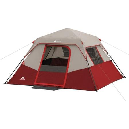 RedGray-Ozark-Trail-6-Person-Instant-No-assembly-  sc 1 st  Discount Tents Nova & Red/Gray Ozark Trail 6 Person Instant No assembly required Cabin ...