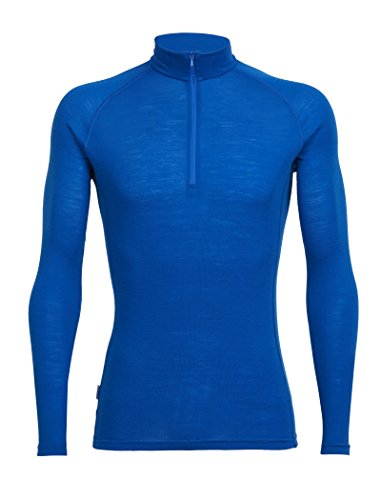 Icebreaker Merino Men's Everyday Long Sleeve Half Zip Top, Awesome, XX-Large (Long Sleeve Half Zip Top)