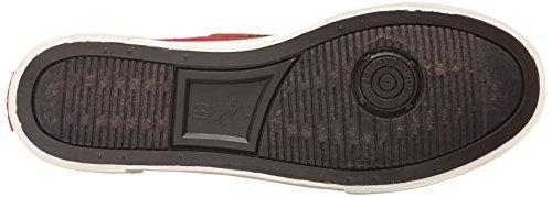 Polo Ralph Lauren Mens Rylander Fashion Sneaker Devon Red/New Snuff ZkKFX