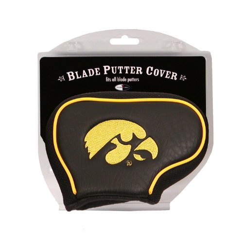 Team Golf NCAA Iowa Hawkeyes Golf Club Blade Putter Headcover, Fits Most Blade Putters, Scotty Cameron, Taylormade, Odyssey, Titleist, Ping, Callaway