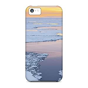 Iphone 5c Case Cover Ice Flows At Dusk In Antartica Case - Eco-friendly Packaging