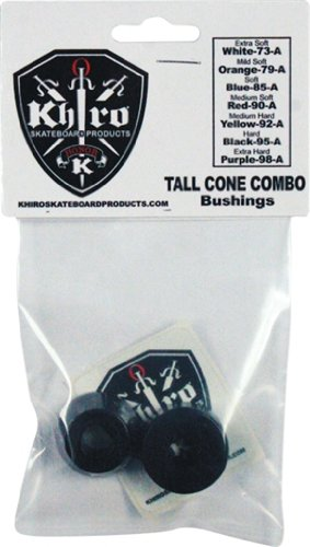 KhiroTall Cone Combo Bushing Set 95a Hard Black