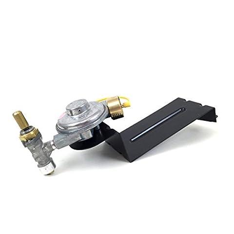 Weber Gas Grill Q220 Replacement Valve & Regulator Manifold 80476 - Natural Gas Grill Regulator