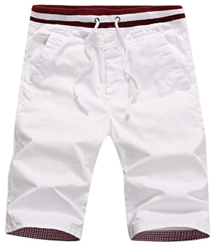new Generic Men's Casual Active Drawstring Straight Beach Boardshort for cheap