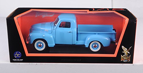 1950 GMC Pickup Truck Blue 1/18 by Road Signature 92648