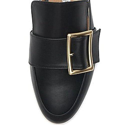 22f68a1688b37 lovely KAREN WHITE Maison kw0285 Women's Comforable Backless Loafer ...