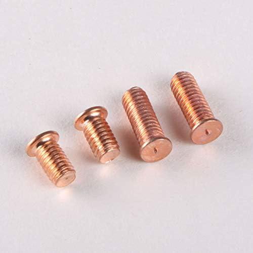 Plating Copper Welding Screws//Welding Screws//Spot Welding Screws//Bolt M610-M650 ZITONG 25mm15PCS M6