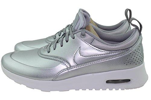 Nike Thea Se Dame Metallisk Sølv 861674-001 (6,5)