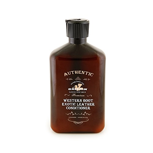 Griffin Western Exotic Leather Conditioner - Premium Crafted Leather Care Formulated to Condition, Protect, Clean, and Polish Exotic Leathers & Skins Made in the USA