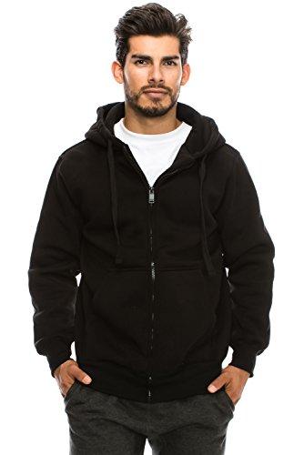 Unisex Black Hoodie - 9