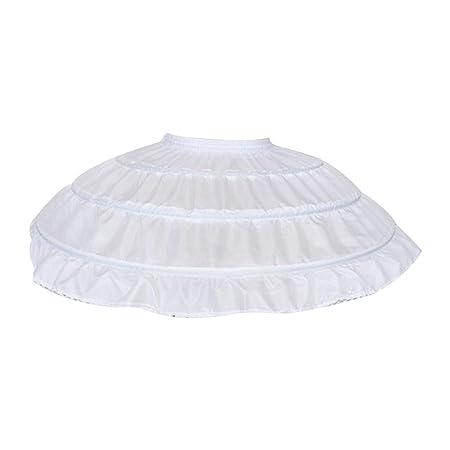 jackyee Petticoat Cos Tutu Forro Vestido Boda Falda Niños Niñas 3 ...