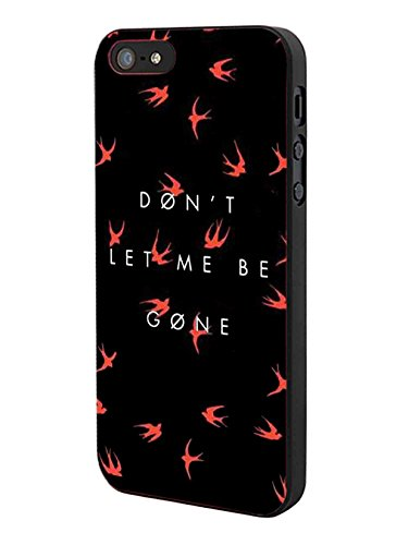 Twenty One pilotes Don't Let Me Be Gone pour iPhone 5 hardplastic Cadre Noir Pour iPhone 5 et iPhone 5s