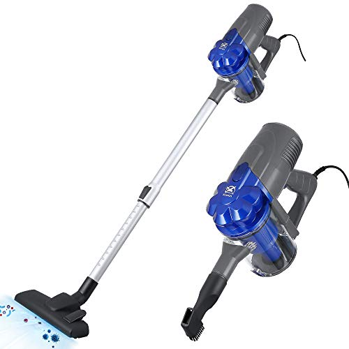 Corded Stick Vacuum Cleaner 2 in 1 Handheld Vacuum for Hard Floor and Carpet