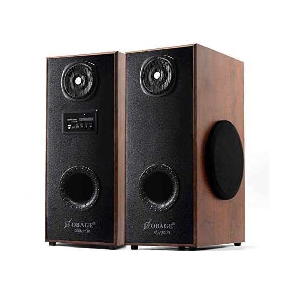OBAGE DT-21 Home Theaters Bluetooth Speakers Tower with Bluetooth 5.0, USB, Aux, FM, MMC