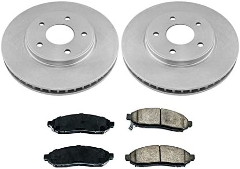 2013 2014 2015 for Nissan NV200 Brake Rotors and Ceramic Pads Front