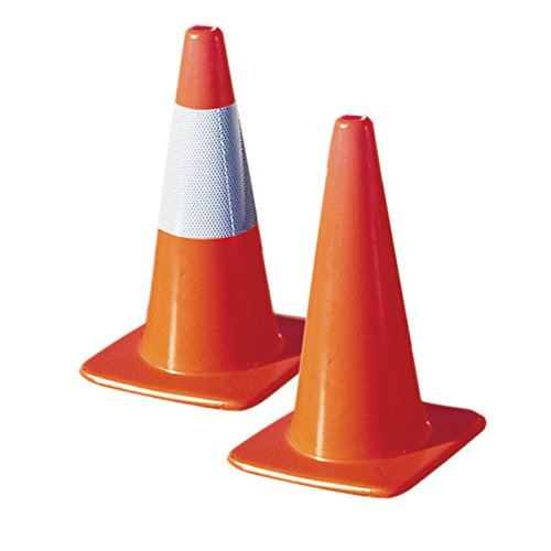"TruForceâ""¢ Economy Traffic Cone, 18'', 2 lb (12 Pack)"